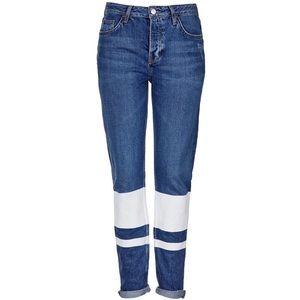 Topshop Hayden Loose Fit Boyfriend Jeans 28 Petite